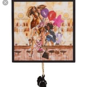 New Henri bendel party girls jewelry box small